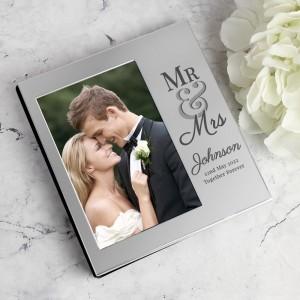 Personalised Mr & Mrs 4x6 Photo Album