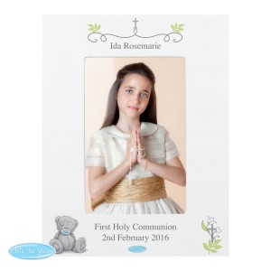Personalised Me To You Religious Cross 4x6 Photo Frame