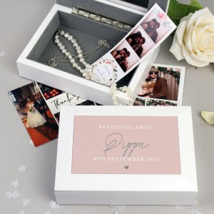 Personalised Free Text Jewellery Box
