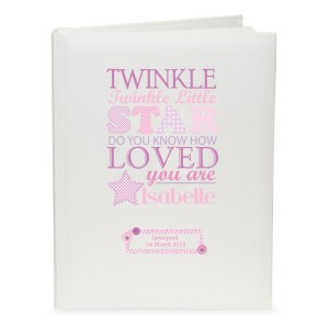 Personalised Twinkle Girls Traditional Album