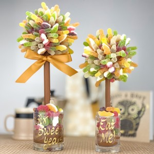 Personalised Fizzy Haribo Tree - 25cm
