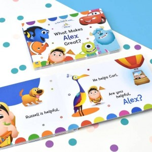 Personalised What Makes Me Great Disney Pixar Board Book