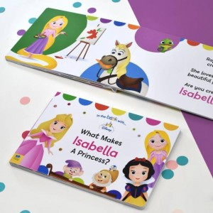 Personalised What Makes Me A Princess Disney Board Book