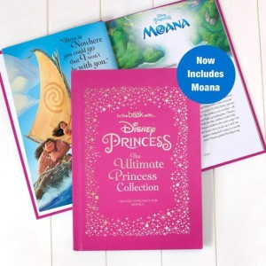 Personalised Disney Princess Deluxe Collection Book