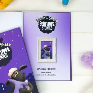 Personalised Shaun the Sheep Bedtime Story Collection - Standard