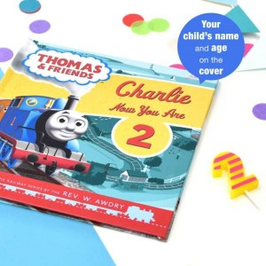Thomas the Tank Engine Birthday Book - Softback