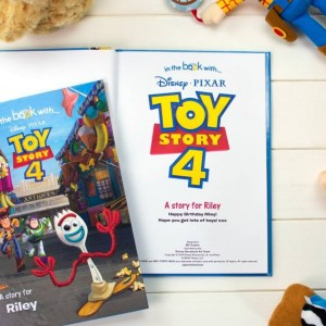 Personalised Toy Story 4 Story Book - Hardback