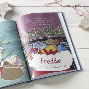 Twas the Night Before Christmas Personalised Book - Embossed Classic Cloth