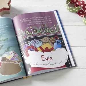 Twas the Night Before Christmas Personalised Book - Hardback