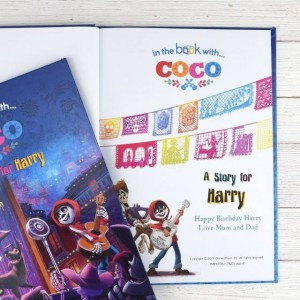 Personalised Disney Coco Story Book - Softback