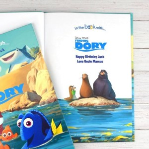 Personalised Disney Finding Dory Story Book - Softback