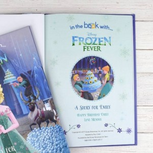 Personalised Disney Frozen Fever Story Book - Softback