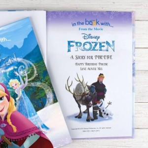 Personalised Disney Frozen Story Book - Softback