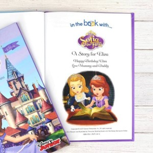 Personalised Disney Jr Sofia the First Story Book - Softback