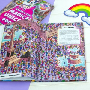 Personalised Where's the Magical Unicorn Poop? Book - Hardback