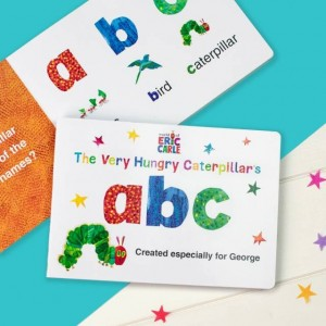 Personalised Very Hungry Caterpillar Board Book – ABC