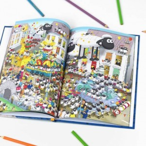 Personalised Where's Shaun? Book - Hardback