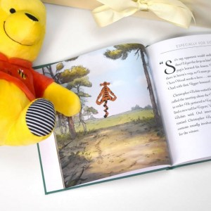 Personalised Disney Winnie-the-Pooh Story Book and Plush Toy Giftset