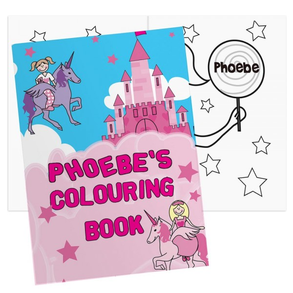 Mr Snowman On Christmas Is Getting Cold Coloring Page: Personalised Princess & Unicorn Colouring Book
